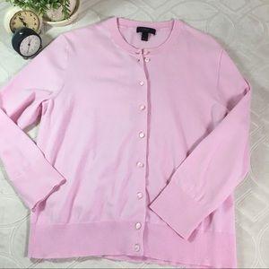 J.Crew Punk Cotton Cardigan Sweater size Small